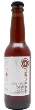 Emelisse White Label Barley Wine 2014 (Makers Mark BA)