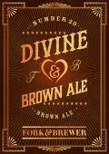 Fork & Brewer Divine Brown Ale