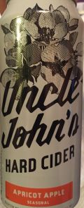 Uncle John's Fruit House Apricot Apple Cider