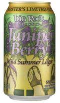 Big Rock Juniper Berry Mild Summer Lager