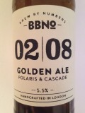 Brew By Numbers 02/08 Golden Ale - Polaris & Cascade