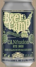Sierra Nevada / Oskar Blues Beer Camp CANfusion Rye Bock