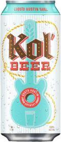 South Austin Brewery Kol'Beer
