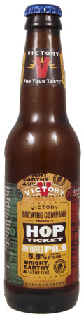 Victory 2014 Hop Ticket #3 Dry Hopped Pils