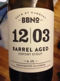 Brew By Numbers 12/03 Barrel Aged Export Stout