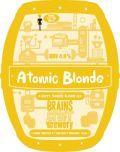 Brains Craft Brewery Atomic Blonde