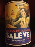 Mont Salève Mademoiselle Barbe Rouge