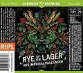 Sudwerk Brewers Cut: Rye of the Liger