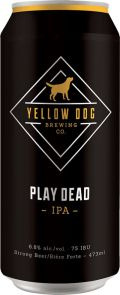 Yellow Dog Play Dead IPA