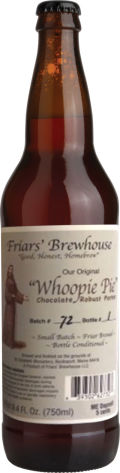 Friars' Brewhouse Whoopie Pie Porter