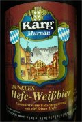 Karg Dunkles Hefe-Weissbier