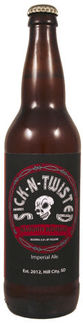 Sick N Twisted Naughty Redhead Imperial Red Ale