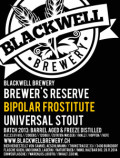 Blackwell Brewer's Reserve Bipolar Frostitute