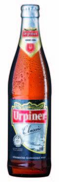 Urpiner Classic Výčapné Svetlé 10° (Draught Pale Beer)