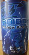 Fuggles & Warlock Raiden Black Rye IPA
