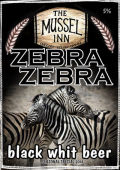 Mussel Inn Zebra Zebra Black Wit