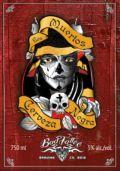 Bad Tattoo Los Muertos Cerveza Negra