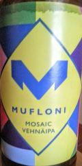 Beer Hunters Mufloni Mosaic vehnä IPA