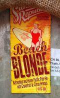 Sunny Republic Beach Blonde (4.4%)
