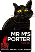 Red Cat Mr M's Porter