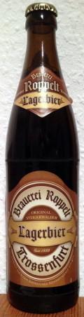 Roppelt-Bräu Lagerbier