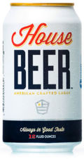 House Beer American Crafted Lager