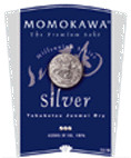 Momokawa Silver Junmai Ginjo Sake