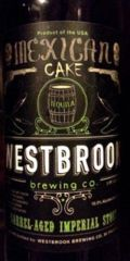 Westbrook Mexican Cake Imperial Stout - Tequila Barrel