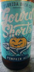 Florida Beer Gourd Shorts Pumpkin Ale