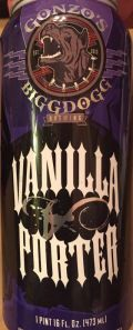 Gonzo's BiggDogg Vanilla Porter Ale