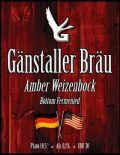 Gänstaller Bräu XL 2 - Amber Weizenbock