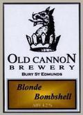 Old Cannon Blonde Bombshell