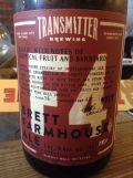 Transmitter F4 Brett Farmhouse Ale