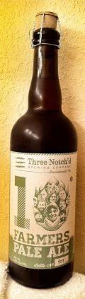 Three Notch'd 10 Farmers Pale Ale