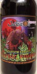 Jackie O's Bourbon Barrel Barking Pumpkin