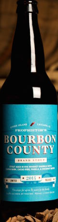 Goose Island Bourbon County Stout - Proprietor's 2014