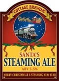 Cottage Santa's Steaming Ale