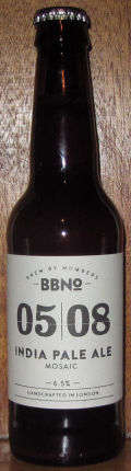 Brew By Numbers 05/08 India Pale Ale - Mosaic