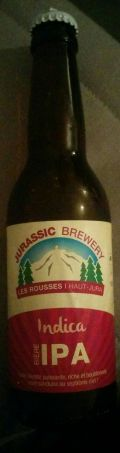 Jurassic  Brewery Indica IPA (West Coast Style)