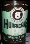 Eight Degrees Hurricane IPA (5.8%)