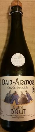 Dan Armor Cuvée Spéciale Cidre Brut