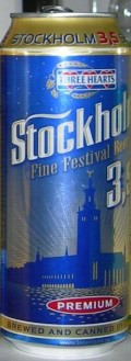 Three Hearts Stockholm Fine Festival Beer 3.5%