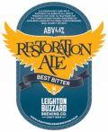 Leighton Buzzard Restoration Ale