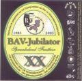 Scheldebrouwerij BAV-Jubilator