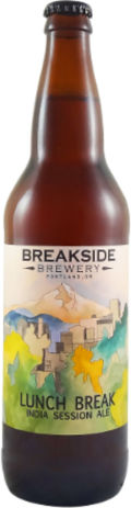 Breakside Lunch Break India Session Ale