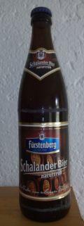 Fürstenberg Schalander Bier naturtrüb