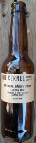 The Kernel Imperial Brown Stout (Port Dundas & Tormore Barrel Aged)