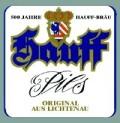 Hauff-Bräu Pils