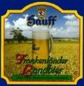 Hauff-Bräu Frankenländer Landbier