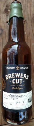 Sudwerk Brewers Cut: Oso Furioso